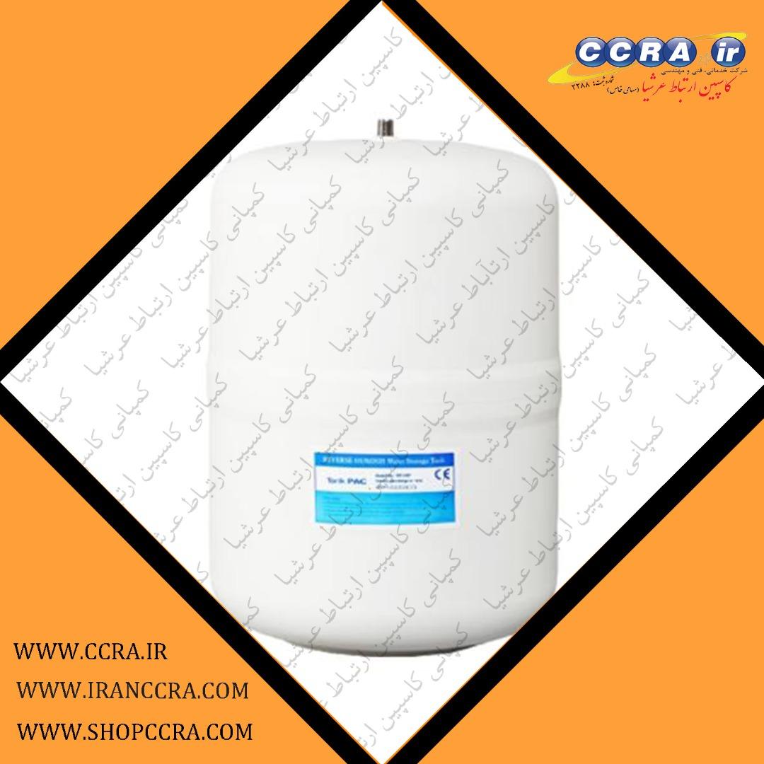 مخزن ذخیره آب 4 گالنی در دستگاه های تصفیه آب خانگی آکوا کلیین